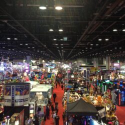 Planet Arcade at Amusement expo show